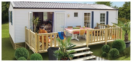 Terrasse Zen non couverte – Type 4,50x2x50m