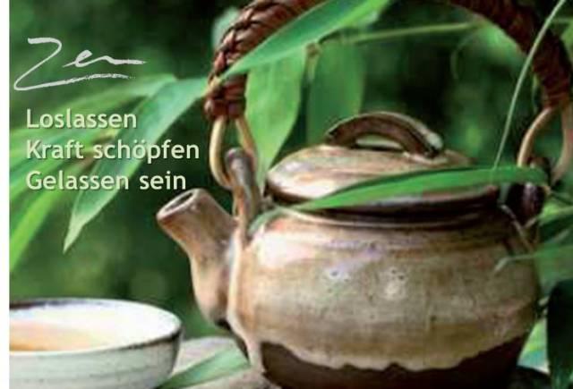 Zen - Klarheit, Respekt, Harmonie, Stille, Gelassenheit
