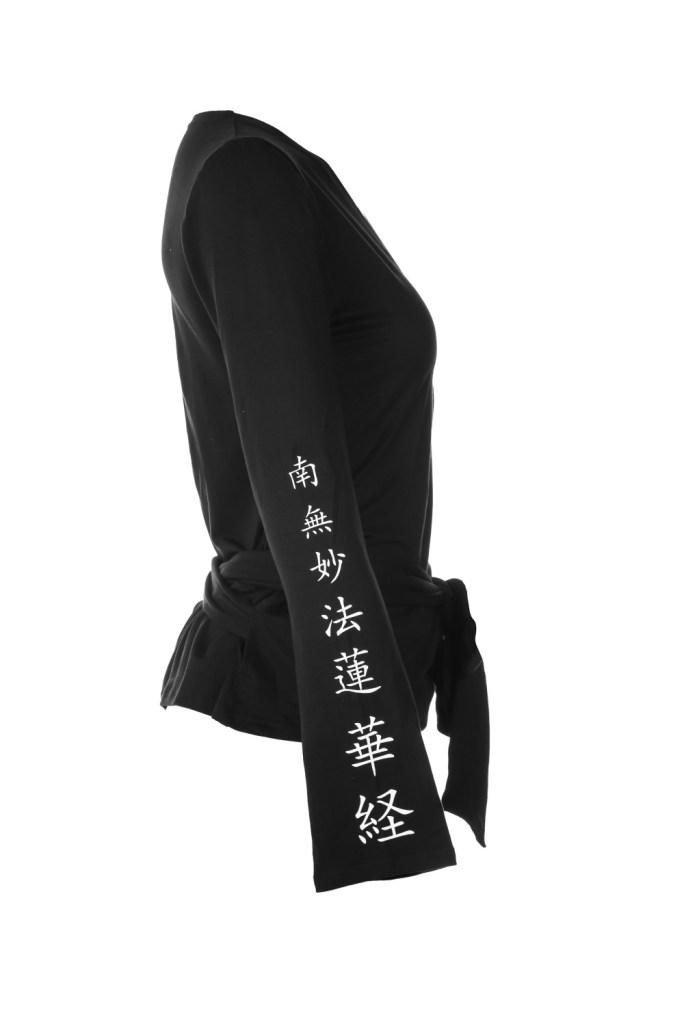 Yoga Shirt_Cristina_Black_NMRK_Side
