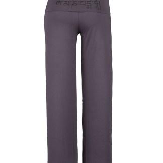 Yoga Pants_Laura_Grey_Om Mani_Back