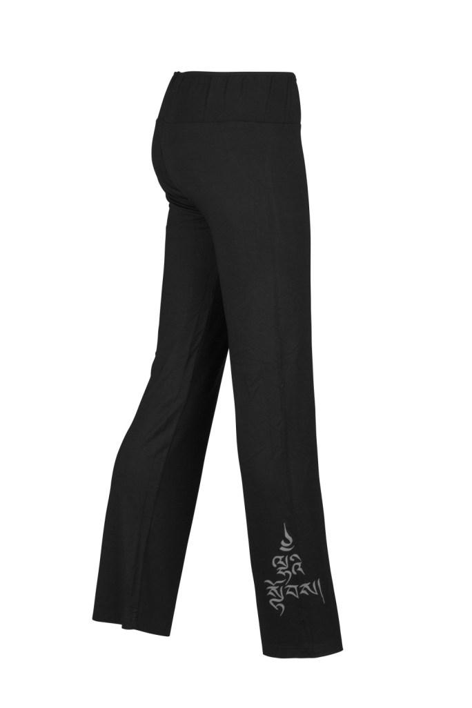 Yoga Pants_Laetitia_Black_Divine Power_Side