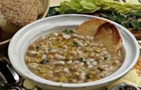 La mesciua è un piatto povero tipico della cucina spezzina.