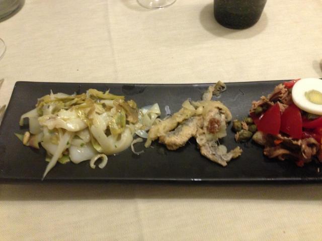 Il condiggion è un piatto fresco ma elaborato, nel rispetto della tradizione ligure e genovese.