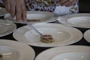 piatti in primo piano cedroni