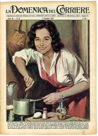 Libri di cucina una vera passione che fa salire le vendite in libreria.