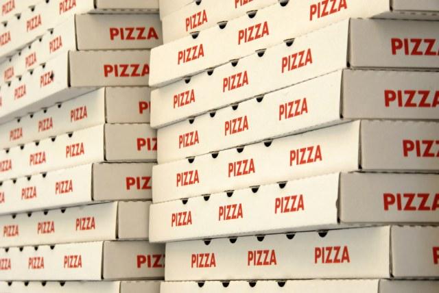 La pizza inquina, cartoni della pizza