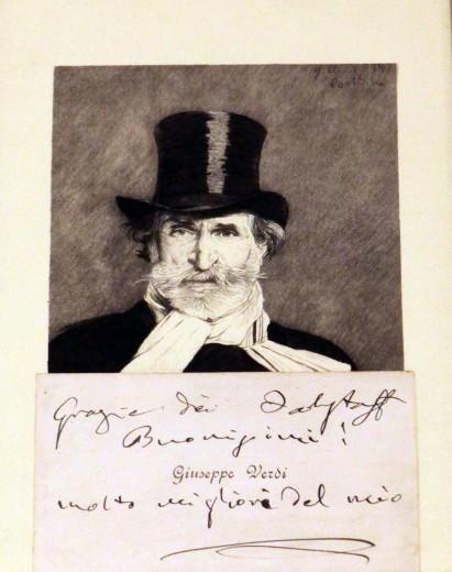 Klainguti e Giuseppe Verdi