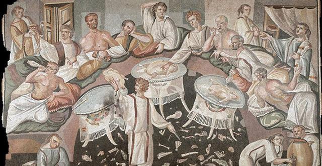 La cucina dei Romani