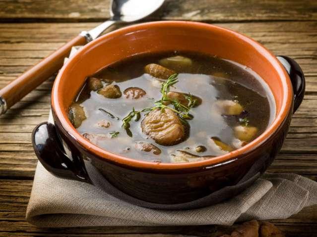minestrone di castagne