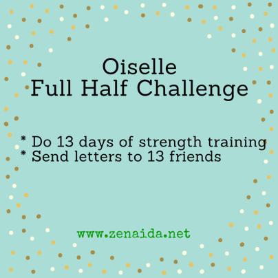 Oiselle Full Half Challenge