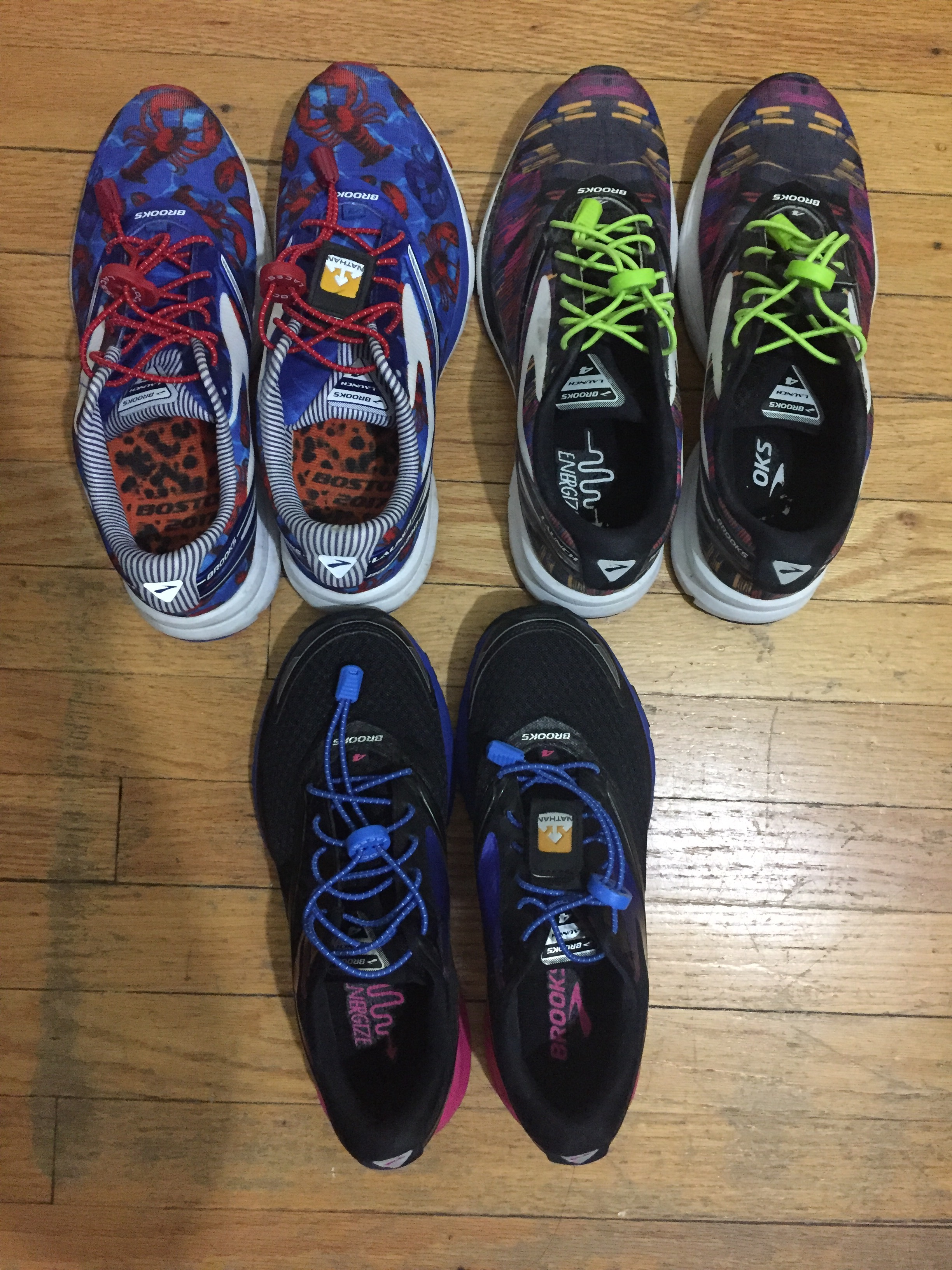 Can you tell I love the Brooks Launch 4?