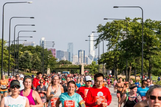 2017 Chicago Half and 5k