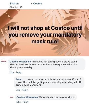 Costco Mask Rule