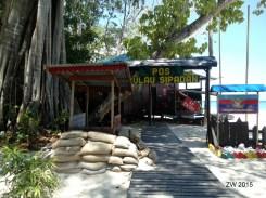 Protección militar en Isla Sipadan