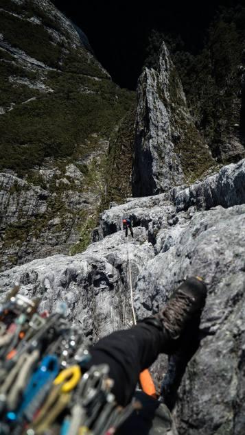 Blade Ridge, Federation Peak - Photo by Simon Bischoff