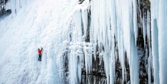 Ice Climbing Yamnuska Mountain Adventures