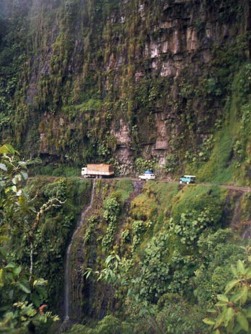 Bolivia Yungas Road