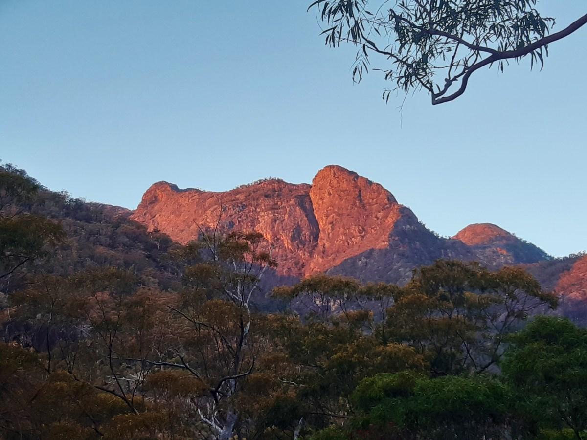 Leaning Peak Mt Barney