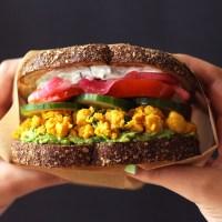 Mediterranean Chickpea Salad Sandwich (Vegan)