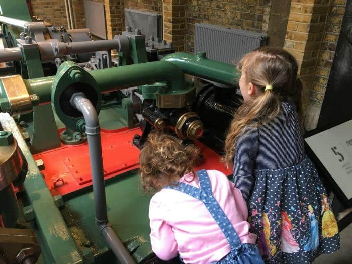 kids-on-glass-floor-tower-bridge- Visiting London Tower Bridge Exhibition With Kids #insidetowerbridge