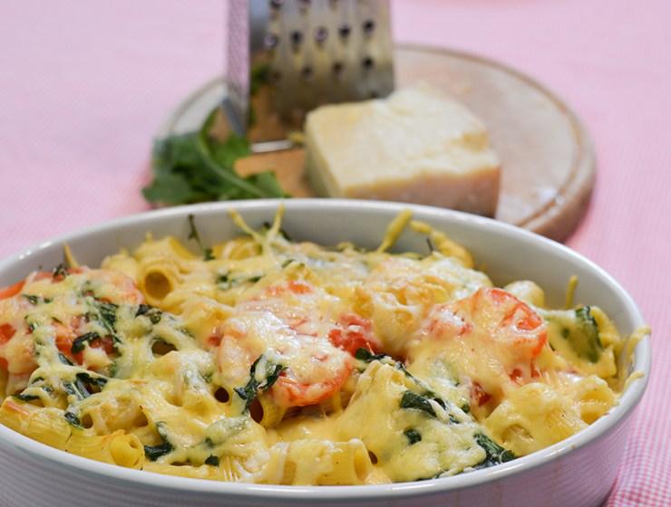 zapečena tjestenina, recepti, dan po dan