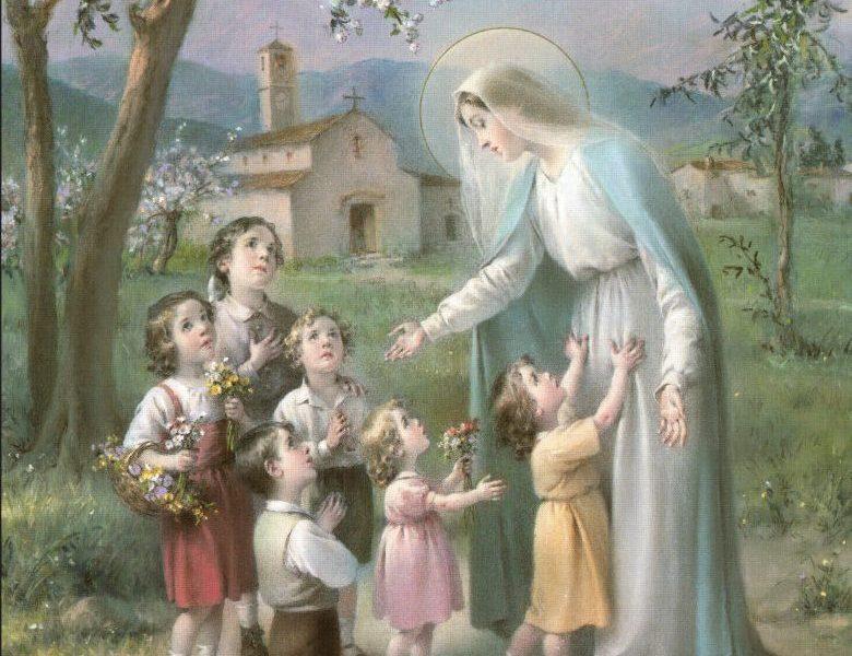 moliti krunicu s djecom