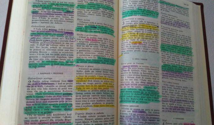 čitanje biblije
