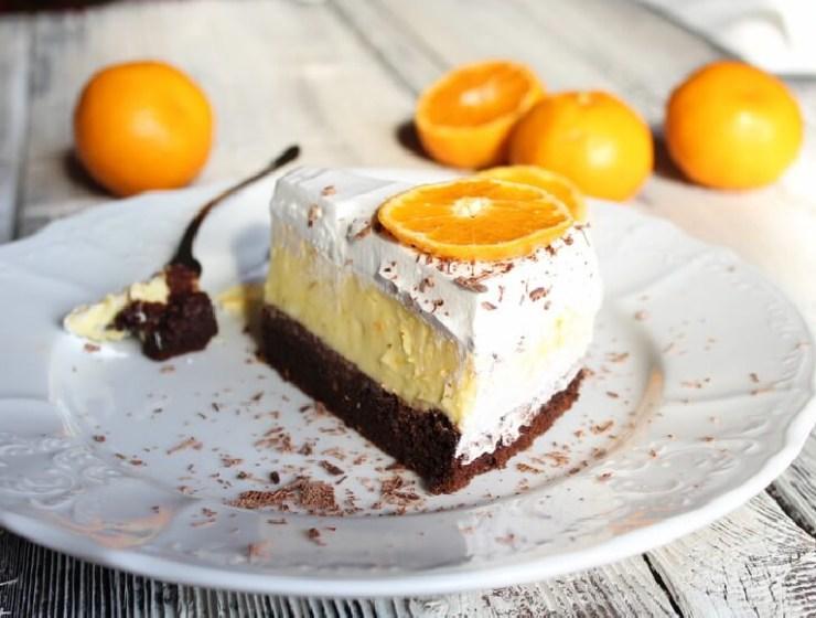 Sočna torta od naranče i čokolade