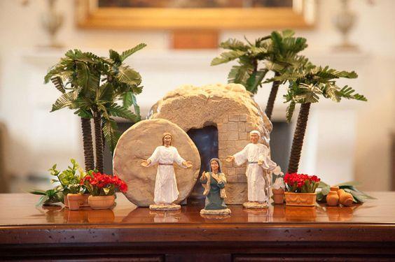 Ideje za uskršnje dekoracije doma s Kristom u centru