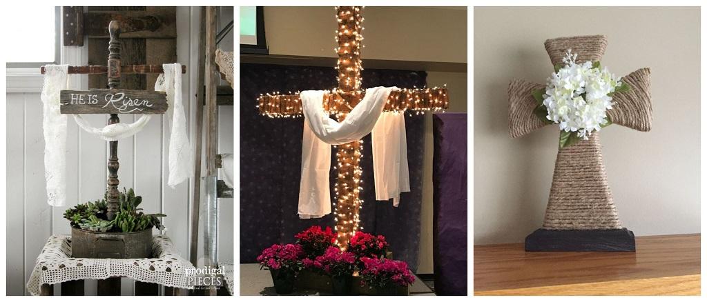 uskršnje dekoracije, križ
