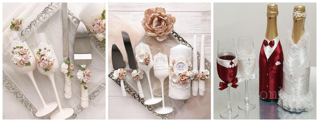 svadba, vjenčanje, čaše, boce