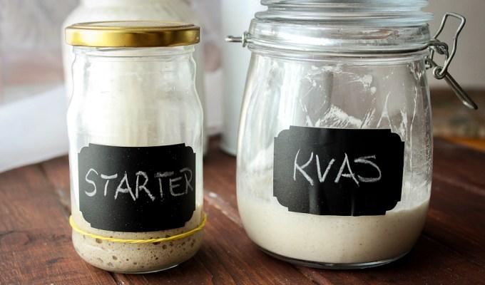 starter, kvasac