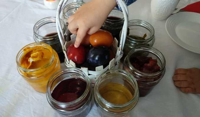 prirodne boje za pisanice, uskršnja jaja