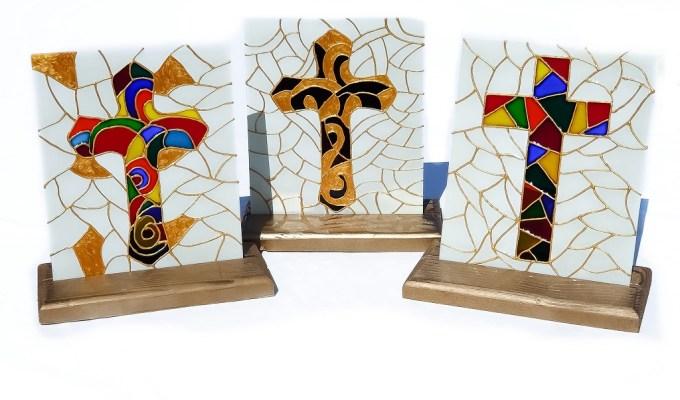 Personalizirani pokloni Rea dizajn - slikanje na staklu na katolički način