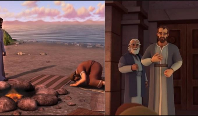 Crtići o Isusovim apostolima Petru i Pavlu