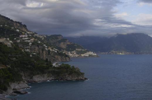 Amalfi coast with baby : stunning views