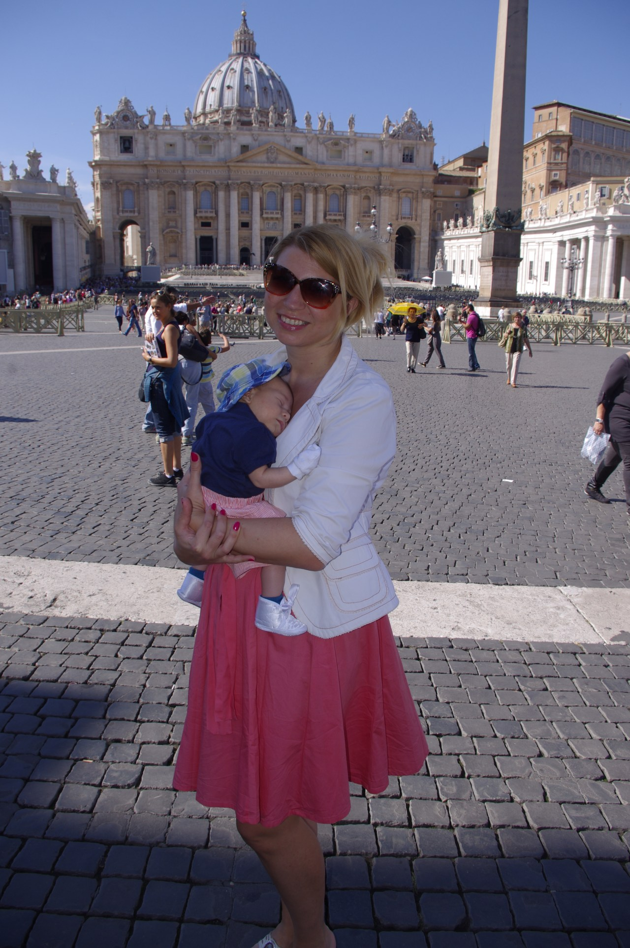 Rome with baby