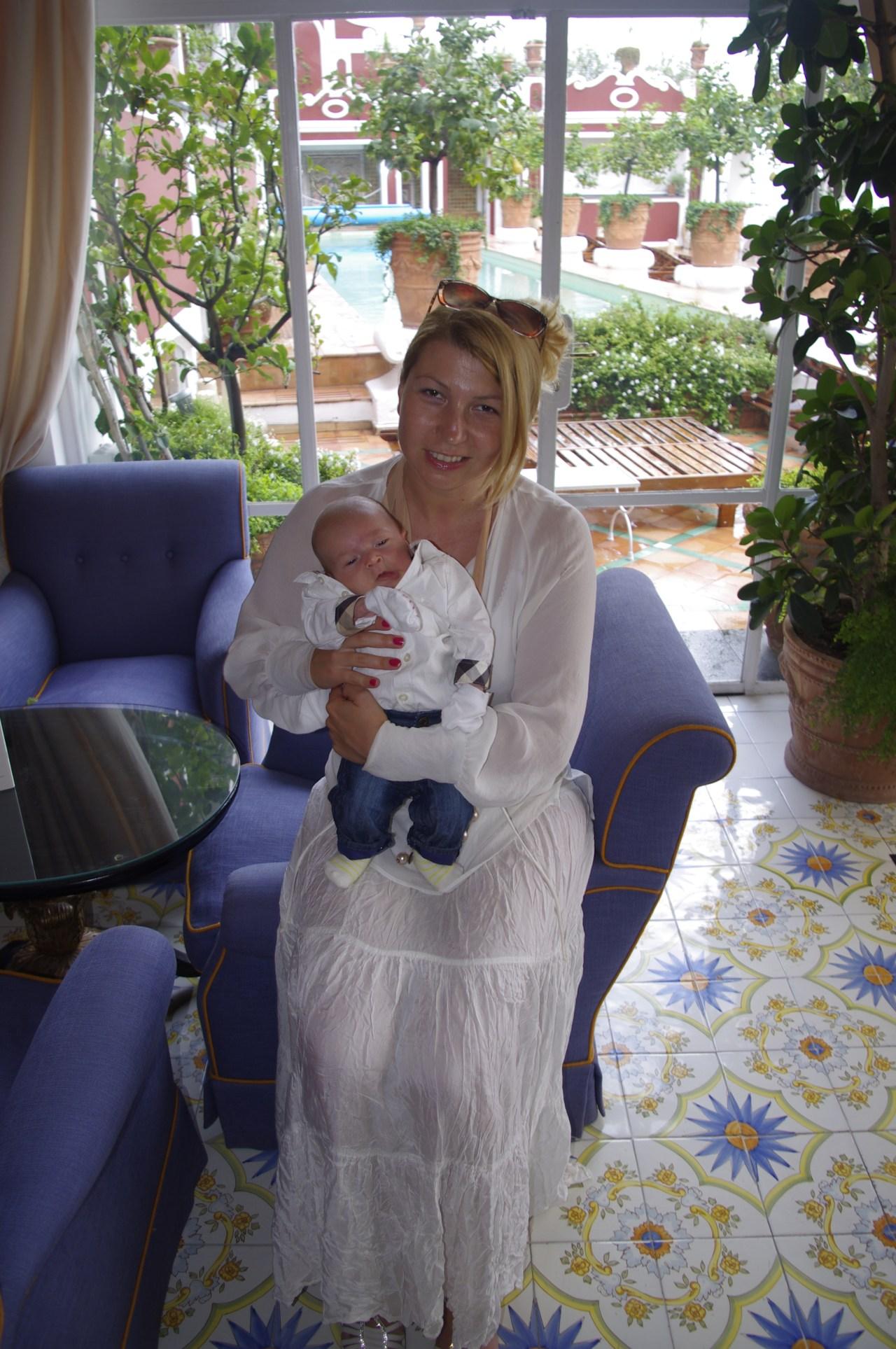 Amalfi with baby: Hotel Sireneuse, Positano
