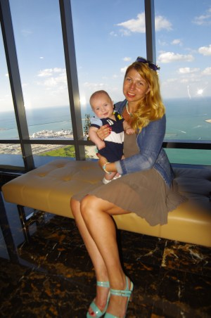 Abu Dhabi with baby - Observation Deck 300, Jumeirah At Etihad Towers.