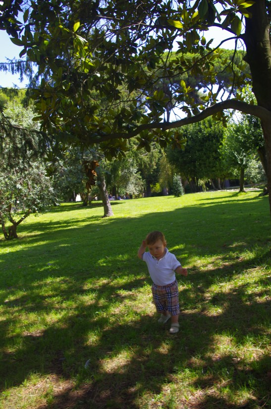 Rome with toddler: playground