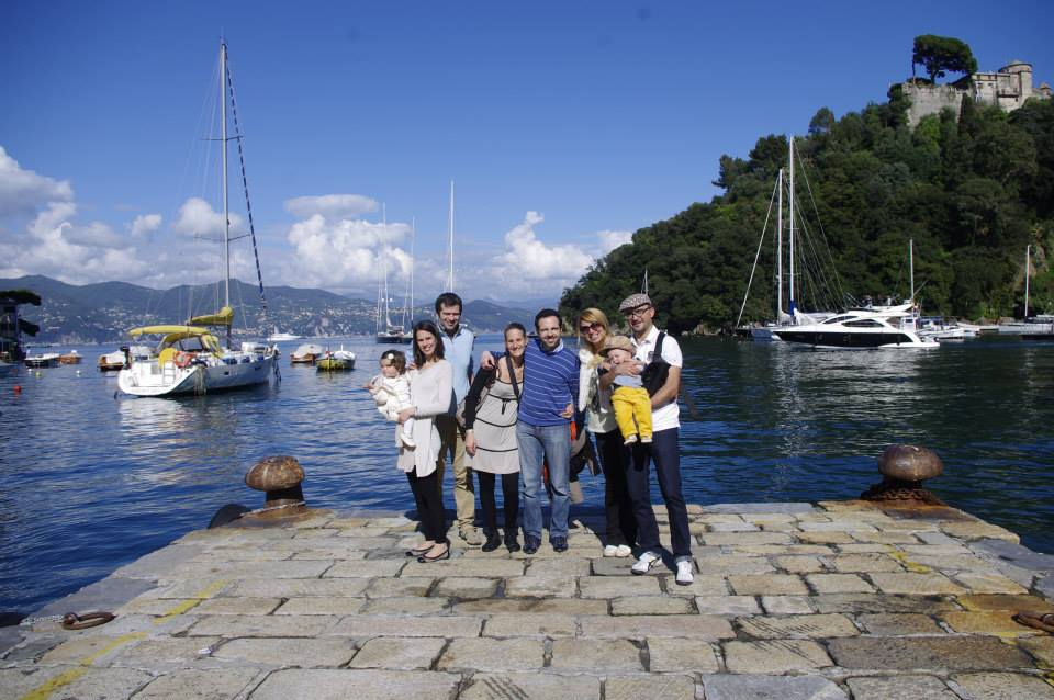 Portofino with kids