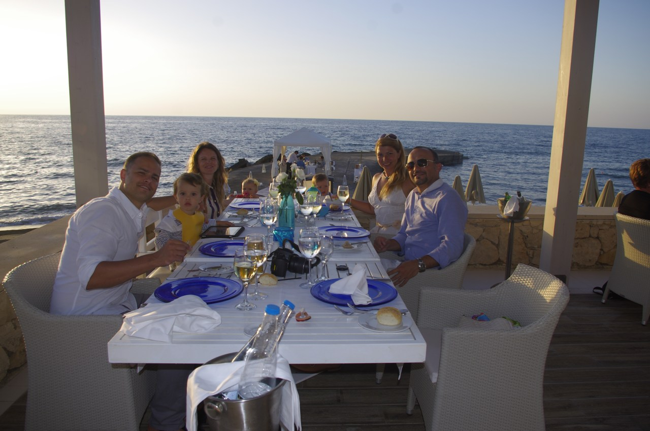 Grecotel White Palace private dinner