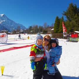 Chamonix with kids