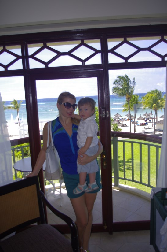 Mauritius with toddler - Le Meridien
