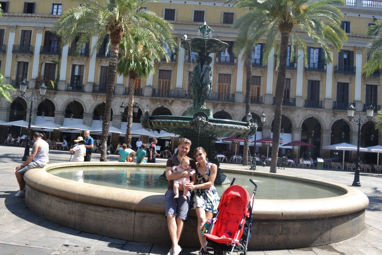 Barcelona with baby : holiday abroad with baby