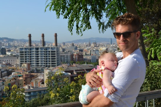 Barcelona with baby 6 months old