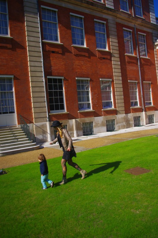 London Open House with a toddler: Marlborough House