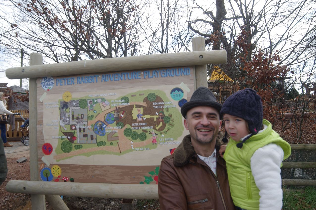 Family days out Hertfordshire : Willows Farm & Peter Rabbit Adventure playground