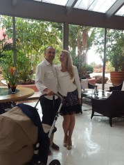 Where to stay in Tenerife - Ritz reception