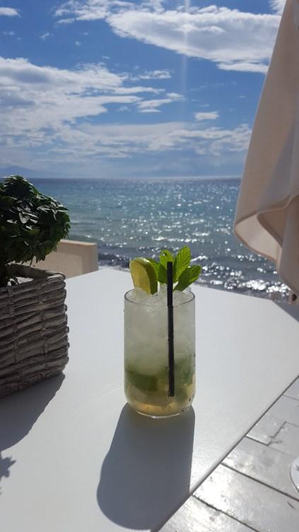 Sani beach bar
